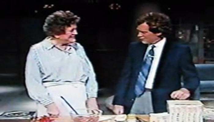 Julia Child on David Letterman