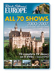 Rick Steves: All 70 Shows 2000-2007 (DVD)