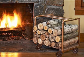 Build Your Own Log Holder