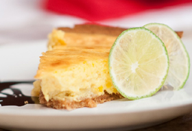 Chef Irie's Mango Key Lime Pie