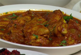 Create it Yourself: Alamelu's<br>Chicken Curry in a Hurry