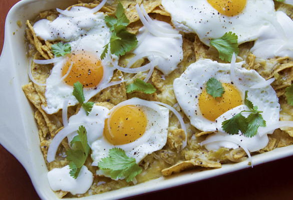 Recipe: Rick Bayless' <br />Breakfast Chilaquiles