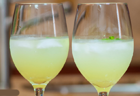 Serve Chef Irie's Lemonade Libation